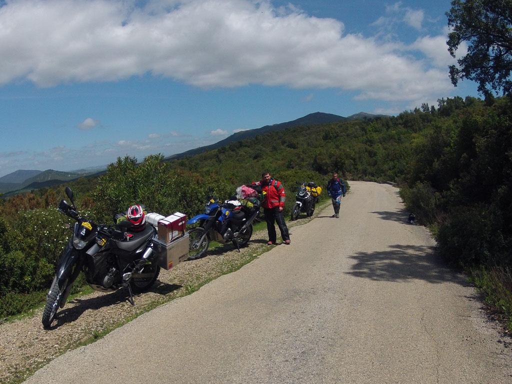 Carreteras entre Tánger y Chauen