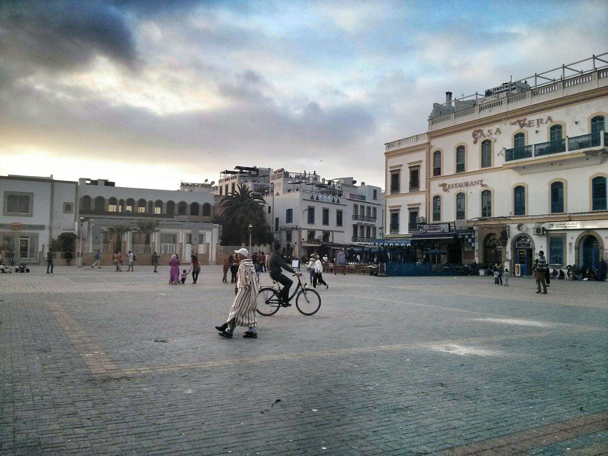 Plaza de Essaouira.