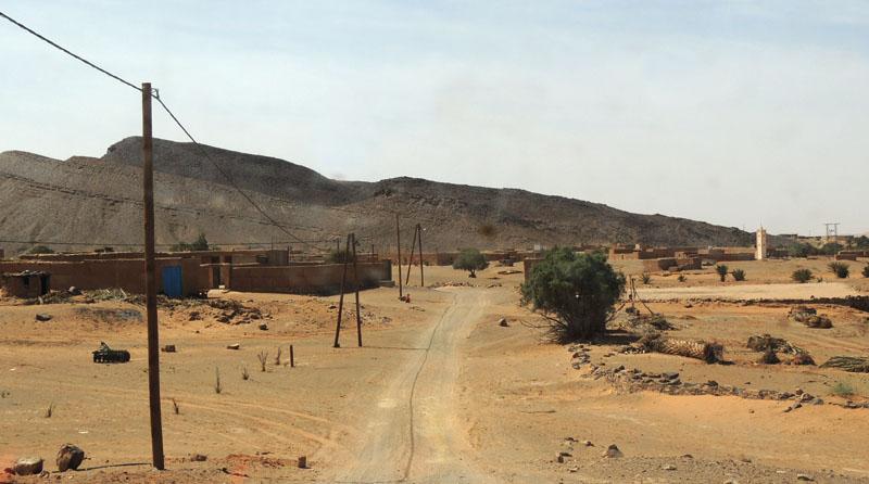 Llegada a Tafraoute desde Rissani en 2014
