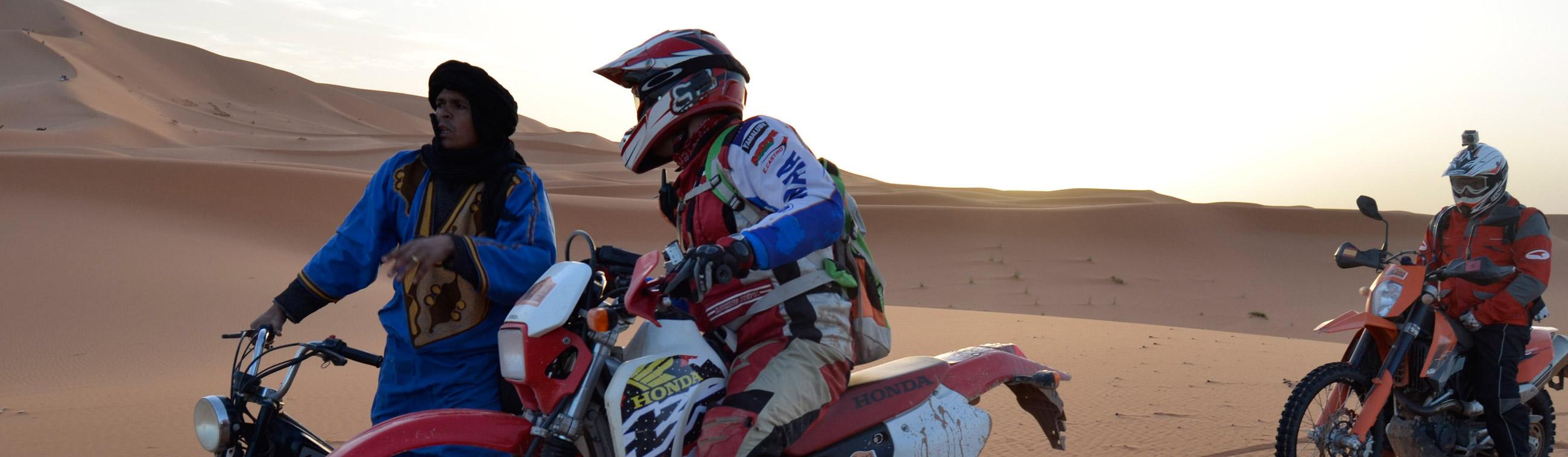 Elección y preparación de una moto para viajar a Marruecos
