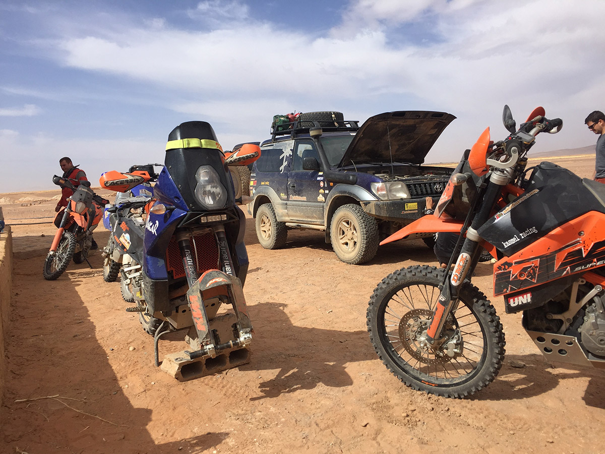 KTM LC8 Marruecos