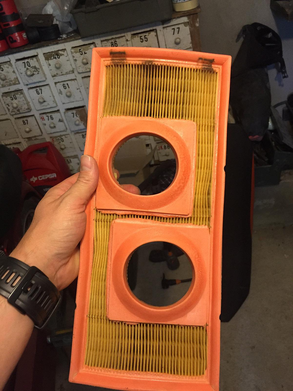 Filtro del aire KTM LC8
