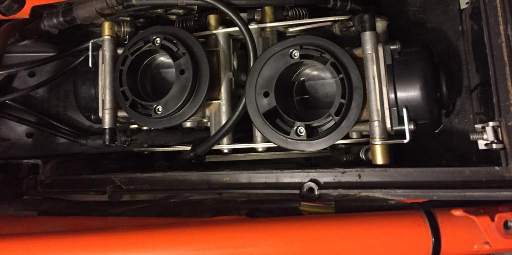 Admisión KTM 950