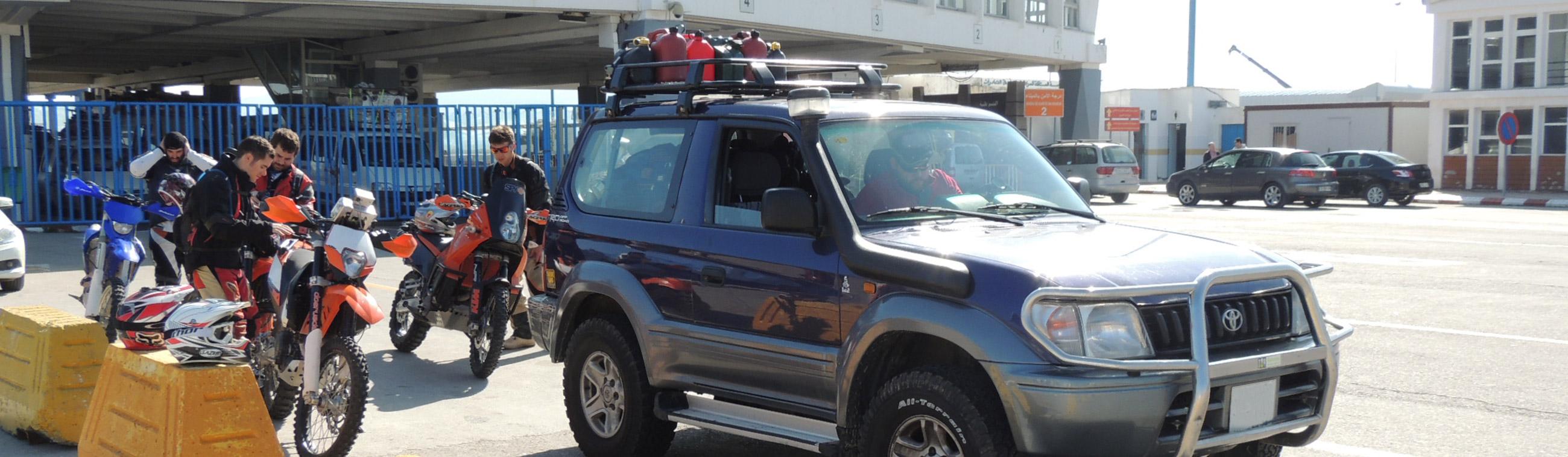 ¿Se puede llevar más de un vehículo a Marruecos?